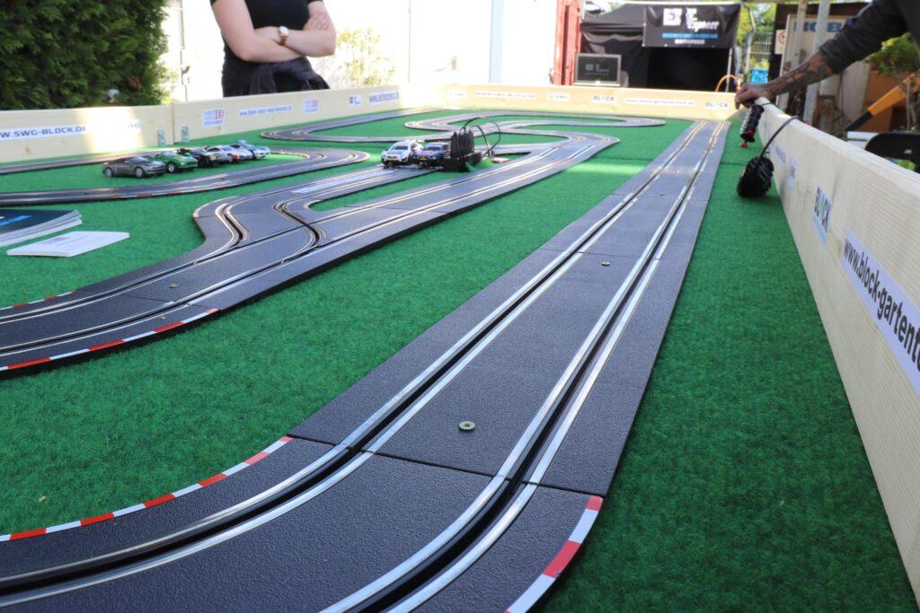 Block Race Die mobile Carrerabahn